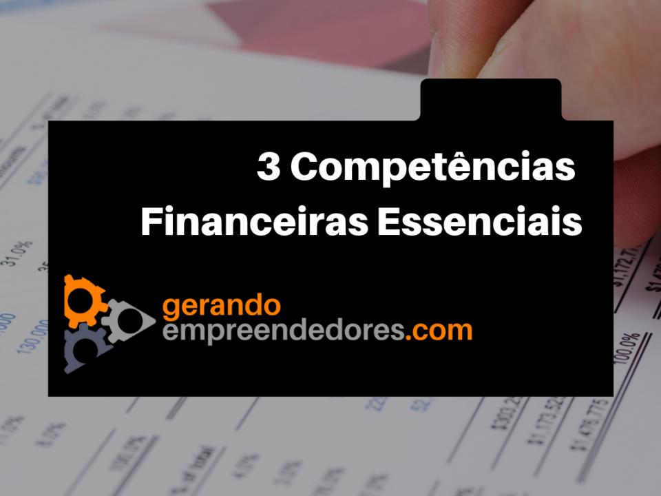 competências financeiras para empreendedores